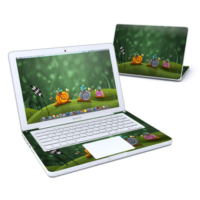 MacBook 13in Skin - Snail Race