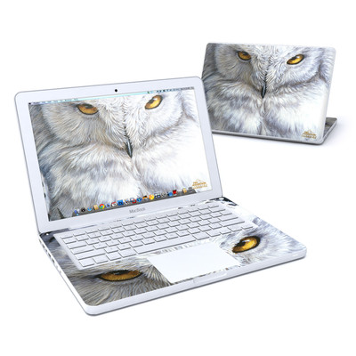 MacBook 13in Skin - Snowy Owl