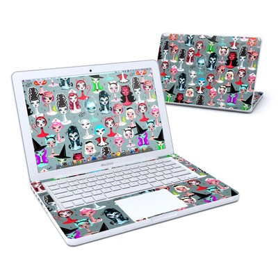 MacBook 13in Skin - Spooky Dolls