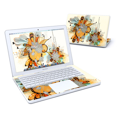 MacBook 13in Skin - Sunset Flowers