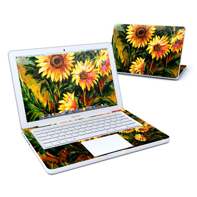MacBook 13in Skin - Sunflower Sunshine