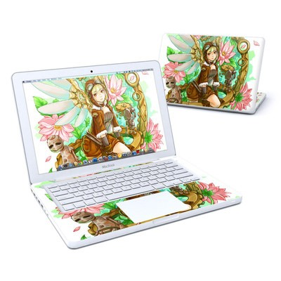 MacBook 13in Skin - Steampunk Angel