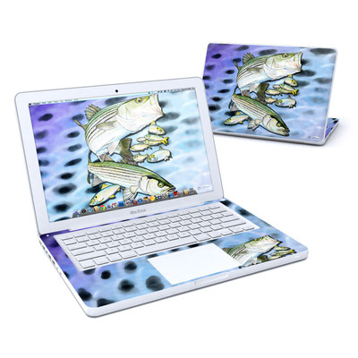 MacBook 13in Skin - Striped Bass