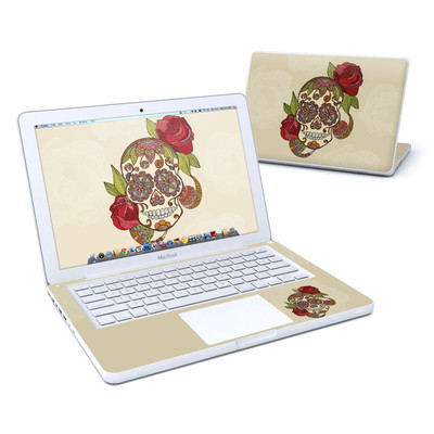 MacBook 13in Skin - Sugar Skull