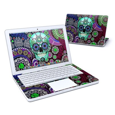 MacBook 13in Skin - Sugar Skull Sombrero