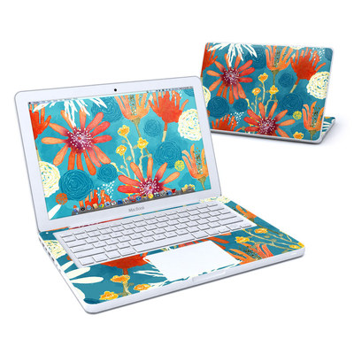 MacBook 13in Skin - Sunbaked Blooms