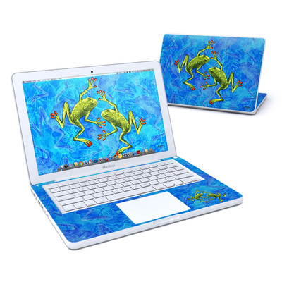 MacBook 13in Skin - Tiger Frogs
