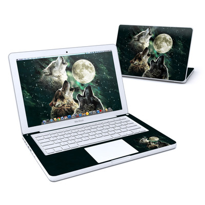 MacBook 13in Skin - Three Wolf Moon