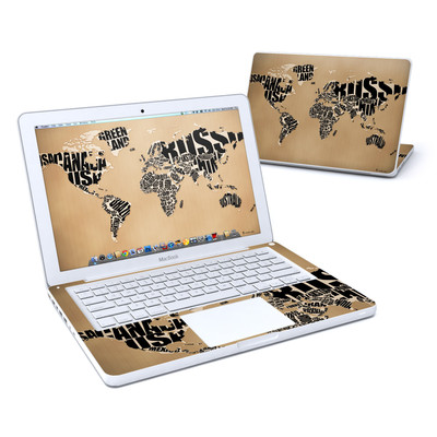 MacBook 13in Skin - Type Map