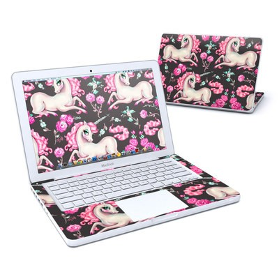 MacBook 13in Skin - Unicorns and Roses