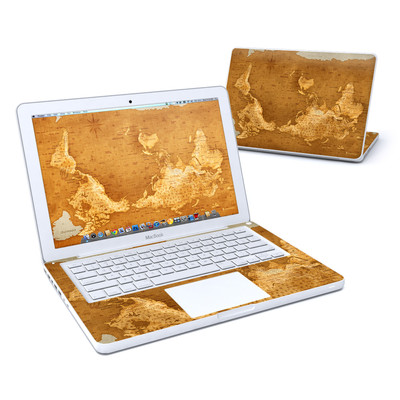 MacBook 13in Skin - Upside Down Map