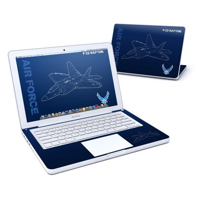 MacBook 13in Skin - F-22 Raptor