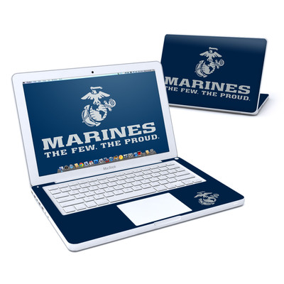 MacBook 13in Skin - USMC Blue