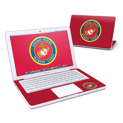 MacBook 13in Skin - USMC Red