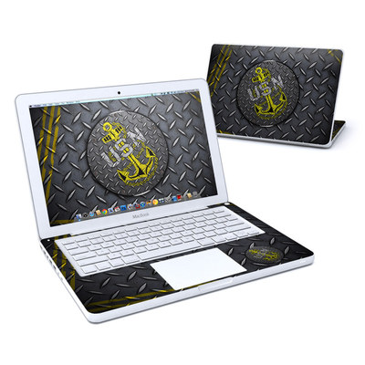 MacBook 13in Skin - USN Diamond Plate