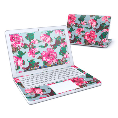 MacBook 13in Skin - Vintage Hibiscus