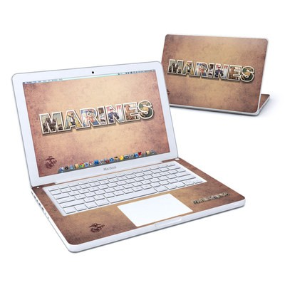 MacBook 13in Skin - Vintage Poster