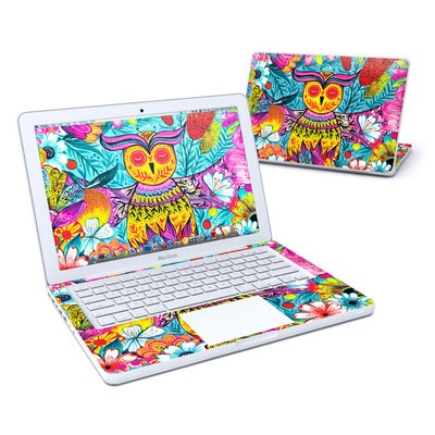 MacBook 13in Skin - Vivid Owl