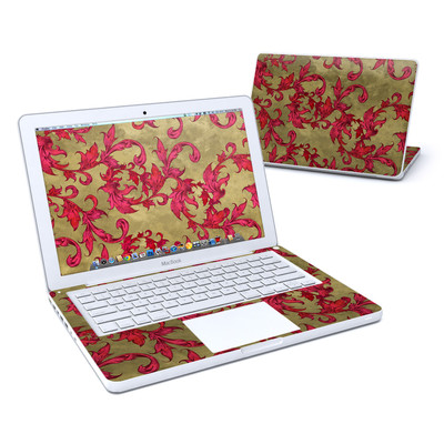 MacBook 13in Skin - Vintage Scarlet
