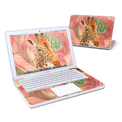 MacBook 13in Skin - Whimsical Giraffe