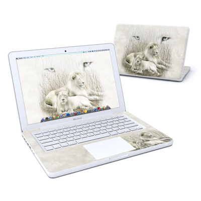 MacBook 13in Skin - White Lion