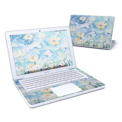 MacBook 13in Skin - White & Blue