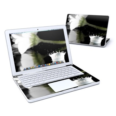 MacBook 13in Skin - White Crown