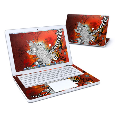 MacBook 13in Skin - Wild Lilly