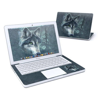 MacBook 13in Skin - Wolf Reflection