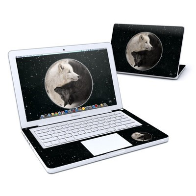 MacBook 13in Skin - Wolf Zen