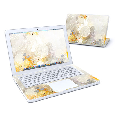 MacBook 13in Skin - White Velvet