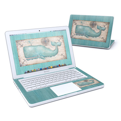 MacBook 13in Skin - Whale Watch
