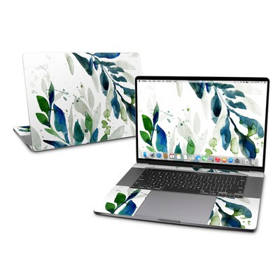 MacBook Pro 16 Skin - Floating Leaves