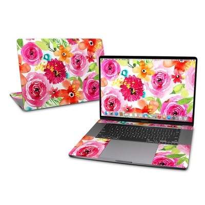 MacBook Pro 16 Skin - Floral Pop
