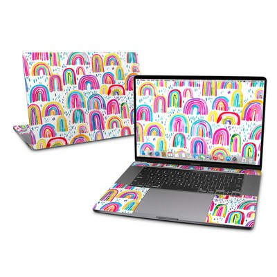 MacBook Pro 16 Skin - Watercolor Rainbows