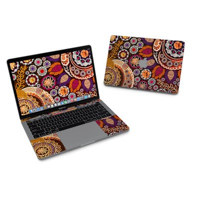 MacBook Pro 13in (2016) Skin - Autumn Mehndi