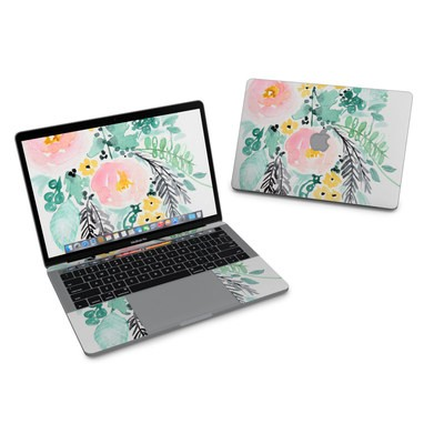 MacBook Pro 13in (2016) Skin - Blushed Flowers