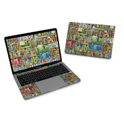 MacBook Pro 13in (2016) Skin - Bookshelf