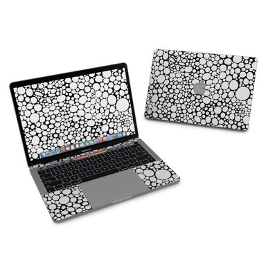 MacBook Pro 13in (2016) Skin - BW Bubbles