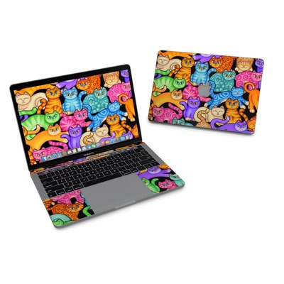 MacBook Pro 13in (2016) Skin - Colorful Kittens