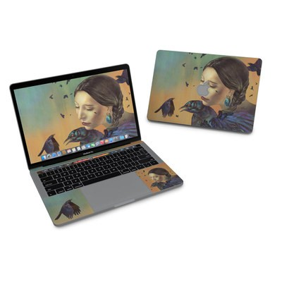 MacBook Pro 13in (2016) Skin - Crow Maiden