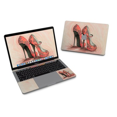 MacBook Pro 13in (2016) Skin - Coral Shoes