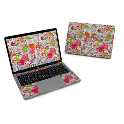 MacBook Pro 13in (2016) Skin - Doodles Color