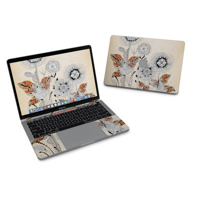 MacBook Pro 13in (2016) Skin - Four Flowers