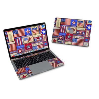 MacBook Pro 13in (2016) Skin - Flag Patchwork
