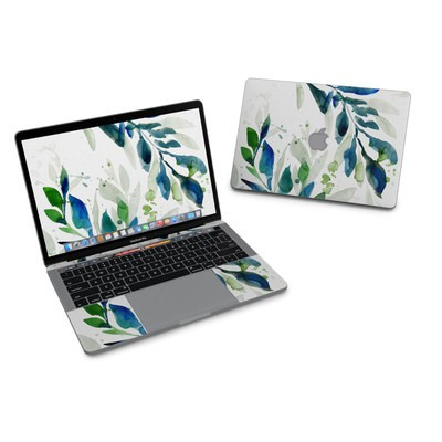 MacBook Pro 13in (2016) Skin - Floating Leaves