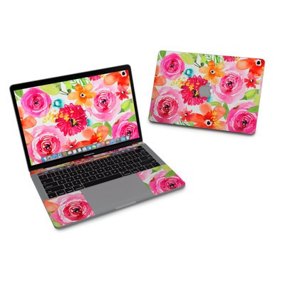 MacBook Pro 13in (2016) Skin - Floral Pop