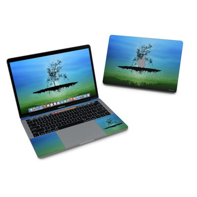 MacBook Pro 13in (2016) Skin - Flying Tree Blue