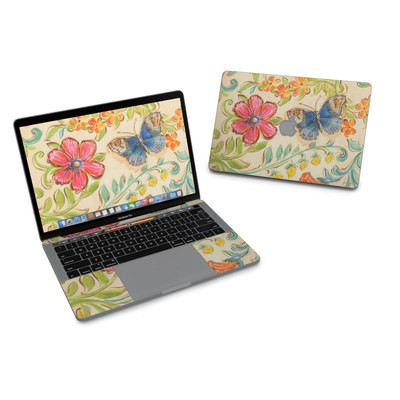 MacBook Pro 13in (2016) Skin - Garden Scroll