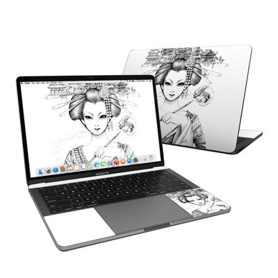 MacBook Pro 13in (2016) Skin - Geisha Sketch